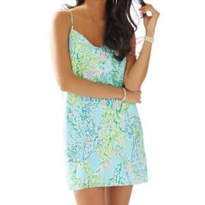 Lilly Pulitzer Dusk Dress Blue Heaven Size Small